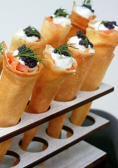 Discover recipes, home ideas, style inspiration and other ideas to try. Fancy Appetizers, Catering, Work Meals, Happy Kitchen, Party Finger Foods, Course Meal, Appetisers, Savoury Dishes, Salmon Recipes