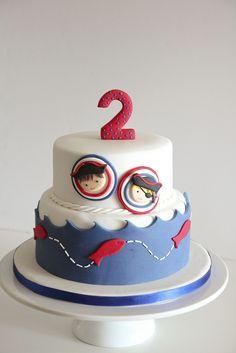 baby pirates cake by Lume Brando, via Flickr