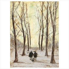 Sam Toft is one of Britain's best loved artists. Sam Toft limited edition prints are published by Collier & Dobson and are available to buy on our website. Art Et Illustration, Illustrations, New Artists, Famous Artists, Snowy Day, Whimsical Art, Dog Art, Watercolor Paintings, Images
