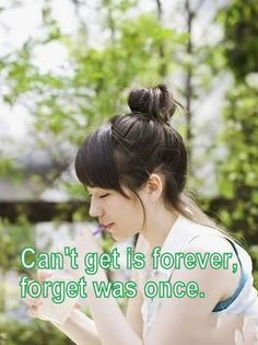 Can't get is forever