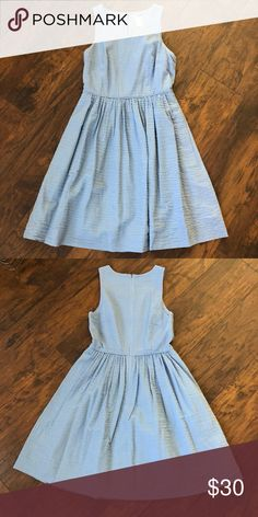 J. Crew robin egg blue sleeveless dress J. Crew robin egg blue sleeveless dress, size 2 J. Crew Dresses