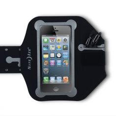 Nite Ize Action Armband for iPhone 6&6S / Samsung S6. In the gym, on your run, or anywhere you go to work out, with the Nite Ize Action Armband, you'll have convenient, hands-free access to your smart phone's training apps, stopwatch, maps, and (most importantly!) music.  Product Information The Nite Ize Action Arm Band is a durable, flexible, and sleek way to stay connected while you're hiking, running, or in the gym. Just slide your device into the main pocket, thread the…