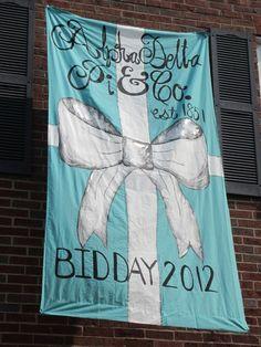 Alpha Delta Pi & Co. Bid Day!
