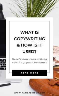 What is Copywriting and How is it Used? Curious about copywriting? Here's what you need to know about copywriting and how it can help your business thrive. Business Marketing, Email Marketing, Content Marketing, Business Tips, Social Media Marketing, Online Business, Business Planning, Make Money Writing, Writing Tips