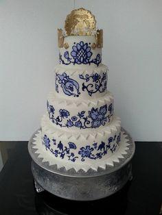 Cake inspirado en la Pollera Panama