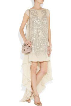 Antonio Berardi|Embellished silk-chiffon gown|NET-A-PORTER.COM