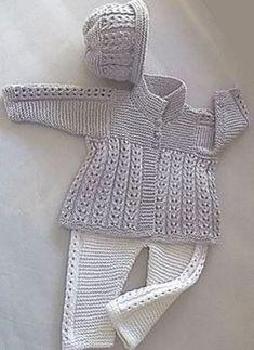 Ravelry: Baby jacket, pants and hat P047 by OGE Knitwear Designs // Екатерина Красильникова