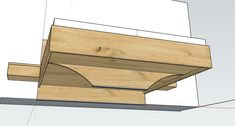 Diy Bett, Bed Frame Design, Floating Bed, Futon Sofa, Post And Beam, Woodworking Plans, Wood Projects, Solid Wood, Bedroom