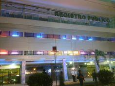Registro Publico adornado cinta rosada y celeste