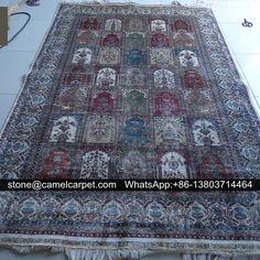 6x9ft silk carpet,handmade