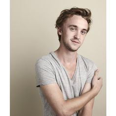 Who's Hotter Daniel Radcliffe or Tom Felton? ❤ liked on Polyvore featuring harry potter, people, tom felton, pictures and backgrounds
