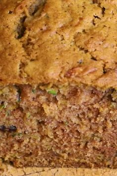 Two loaves of easy-to-make, moist zucchini bread Zucchini Bread - Best zucchini bread recipe. Zucchini Bread Muffins, Easy Zucchini Bread, Lemon Zucchini, Zucchini Bread Cake Mix Recipe, Quick Bread, Pioneer Woman Zucchini Bread, Zuchinni Banana Bread, Zuchinni Recipes Bread, Cinnamon Zucchini Bread