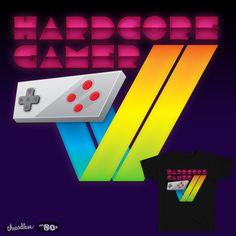 My New design, Hardcore Gamer, now on Threadless