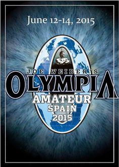 Mr Olímpia Spain amateur. 2015
