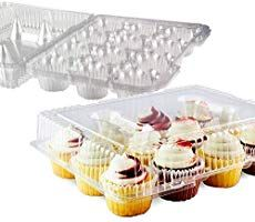 Chefible 12 Compartment Plastic Disposable Cupcake Container, Takeout Container, Cupcake Carrier - Set of 4 Carrot Cake Cupcakes, 12 Cupcakes, Baking Cupcakes, Cupcake Cakes, Cupcake Ideas, Cup Cakes, Easter Egg Cake Pops, Easter Cupcakes, Raspberry Smoothie