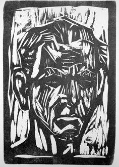Otto Dix (German, 1891-1969): Self-Portrait / Portraits