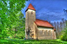 Velemér, Árpád-kori templom HDR Hungary, Cabin, House Styles, Places, Home Decor, Decoration Home, Room Decor, Cabins, Cottage