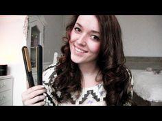 Filmpje: Krullen maken met een stijltang : Mascha's Beautyblog – Beautygloss.nl