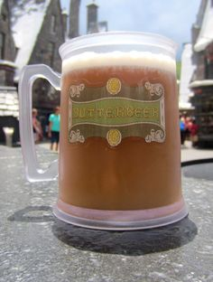 Frozen Butterbeer recipe. I HAVE BEEN WAITING FOR THIS. Oh my goodness I am so ready to try it.