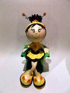 Bonecos 3D em EVA -   Fofucha Abelhinha 102498630180302518149 - Álbuns Web…