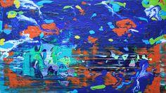 acrylic painting 60 cm x 50 cm NO.313