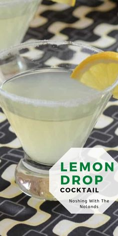 Easy Drink Recipes, Cocktail Recipes, Cocktails, Drinks, Easy Mocktails, Lemon Drop Cocktail, Make Ahead Lunches, Tasty Kitchen, Pinterest Recipes