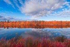 Ivalo River by Sakari Lampola, via 500px