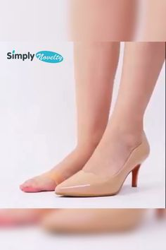 Comfort-Pro™ Anti-Slip Silicone Ball-Of-Foot Protective Pads - Say goodbye to blisters, painful toes and uncomfortable steps! Get targeted relief for your ball of foot pain. Dressy Shoes, Cute Shoes, Me Too Shoes, Foot Pads, Clothing Hacks, Cool Things To Buy, Stuff To Buy, Wedding Shoes, Gown Wedding