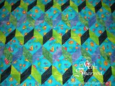 Lily Patch Quilts: tumbling quilt
