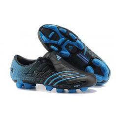 timeless design 8e8f4 0dd5d Lionel Messi Adidas F50 Adizero TRX FG de soccer à crampons Noir Bleu  Ronaldo Soccer,