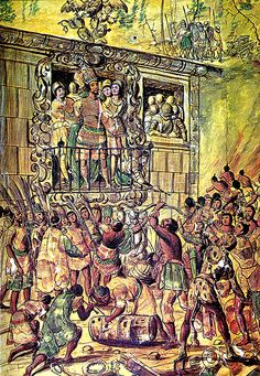 They didn't take Latin America all in one sweep. Individual mercenary forces slowly took it. Cortés and his Indian assistance fought the Aztecs. Moctezuma was killed, and soon all of Mexico was under Spanish control. Pizarro soon tried for Cuzco, and it fell in 1533. The Spanish build Lima, their capital in Peru. They explored Chile and the American Southwest. In 1570, there were 192 Spanish settlements on the new continent.