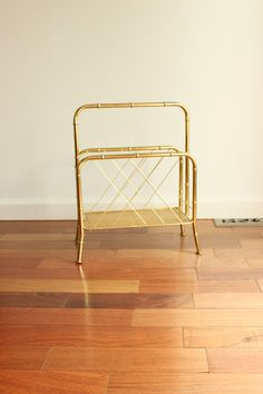 Brass Bamboo Holder