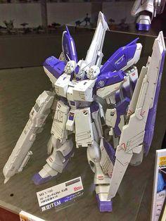 MG 1/100 Hi-Nu Gundam Ver.Ka + P-Bandai HWS (Heavy Weapon System) On Display @ Gundam Front Tokyo: Photoreport Big Size Images http://www.gunjap.net/site/?p=193207