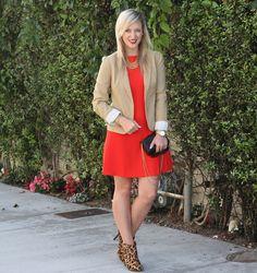 J adore red dress leopard