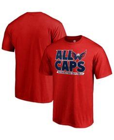 Majestic Men s Washington Capitals Playoff Slogan T-Shirt - Red XXL Capitals  Playoffs 3662283e9