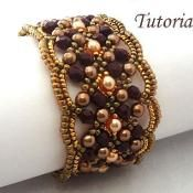 Jewelry: Tutorial Maroon Bracelet