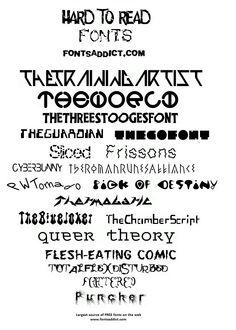 14 Best Fonts Addict Showcase images | Icon font, Free fonts
