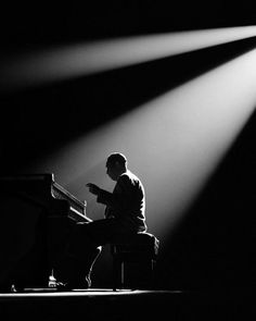 Duke Ellington Paris 1958  Photo: Herman Leonard- one of my favourite jazz artists - a true legend