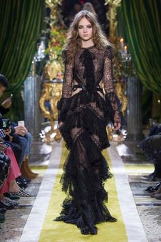 Women's Autumn Winter Collection Fashion Show | Roberto Cavalli
