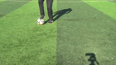 30 Ball Mastery exercises for soccer players. Improve both feet, skill, speed on the ball and your technique. #Soccer #Football #SoccerPractice #SoccerBallMastery