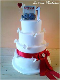 #elefante #numberone #puglia #compleanno #festa #red #rosso #1anno #farfalle