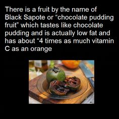user black sapote snack attack knew nature dr who fruits forward black ...