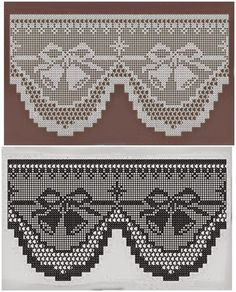 Výsledok vyhľadávania obrázkov pre dopyt miria croches e pinturas Filet Crochet Charts, Crochet Motifs, Crochet Borders, Crochet Doilies, Crochet Lace, Crochet Stitches, Crochet Hooks, Yarn Crafts, Sewing Crafts