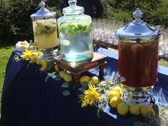 Non-Alcoholic Beverages pre-ceremony