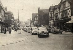 Standishgate and Powell street Co-op to the left Powell Street, My Town, Old Photos, Past, Folk, Old Things, England, Street View, Album