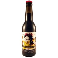 Cerveja La Maline, estilo Porter, produzida por Brasserie Thiriez, França. 5.8% ABV de álcool.