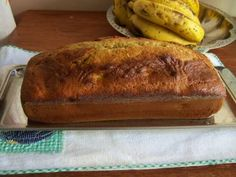 Banana Bread - it is more a cake than a bread. Delicious!