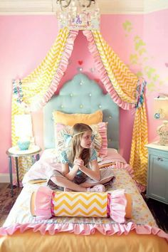 Girls room from Addisons wonderland ♡ it