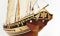 Jabeque CAZADOR. Modelismo naval.