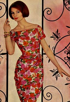 1961  # vintage # 60's # fashion